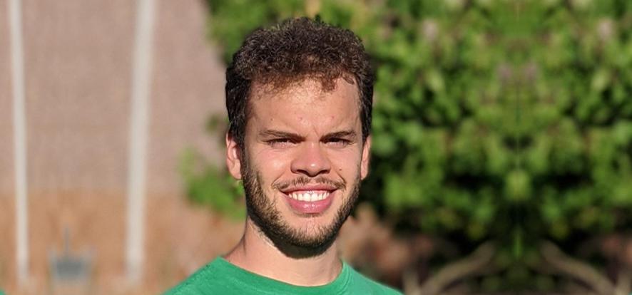 Pablo Díaz, graduado en la Facultad de Medicina de Cádiz, número 45 en el Examen MIR 2020