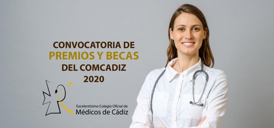 Convocatoria de PREMIOS Y BECAS del COMCADIZ 2020