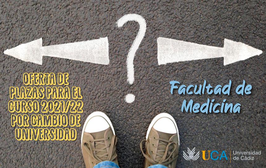 IMG Oferta de plazas por cambio de Universidad para el curso 2021-22