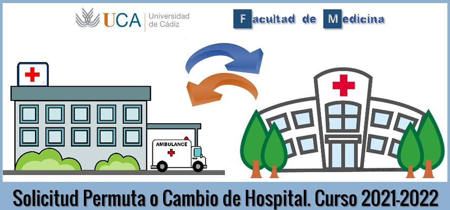 Solicitud de cambio o permuta de Hospital